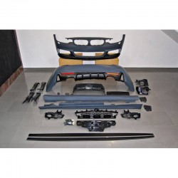 KIT ESTETICO COMPLETO IN ABS BMW SERIE 4 F32 F33 LOOK M PERFORMANCE