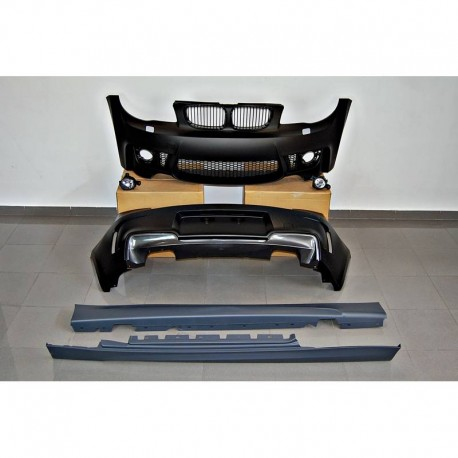 KIT ESTETICO COMPLETO IN ABS BMW SERIE 1 E81 LOOK M1