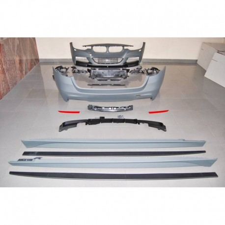 KIT ESTETICO COMPLETO IN ABS BMW SERIE 3 F31 LOOK M PERFORMANCE