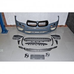 PARAURTI ANTERIORE COMPLETO IN ABS BMW X5 F15 LOOK X5M