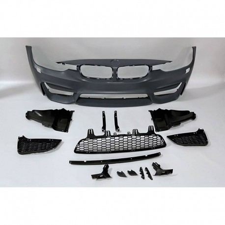 PARAURTI ANTERIORE COMPLETO IN ABS BMW SERIE 3 F30 F31 LOOK M4