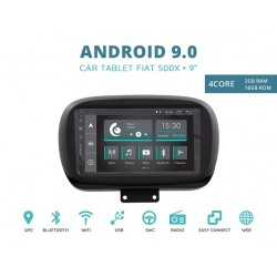 CUSTOM FIT JF-031FXA-XDAB AUTORADIO FIAT 500X ANDROID QUADCORE