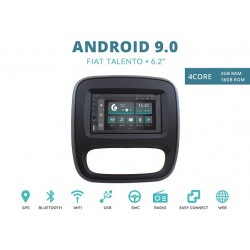 CUSTOM FIT JF-227A-XDAB-FT AUTORADIO FIAT TALENTO ANDROID QUADCORE