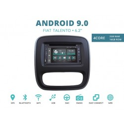 CUSTOM FIT JF-222A-XDAB-FT AUTORADIO FIAT TALENTO ANDROID QUADCORE