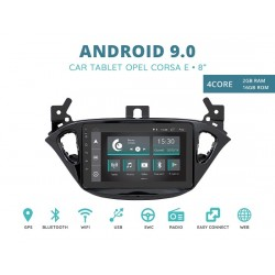 CUSTOM FIT JF-038OCA-XDAB AUTORADIO SPECIFICA OPEL ASTRA E ADAM DAL 2015 ANDROID