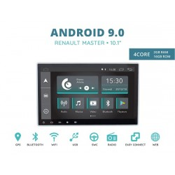CUSTOM FIT JF-011A-XDAB-RM AUTORADIO RENAULT MASTER DAL 2015 QUADCORE ANDROID