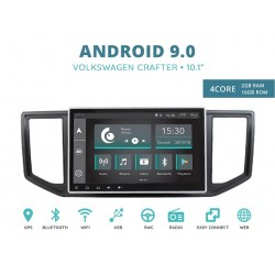 CUSTOM FIT JF-011A-XDAB-WC AUTORADIO VOLKSWAGEN CRAFTER EOS ANDROID QUADCORE