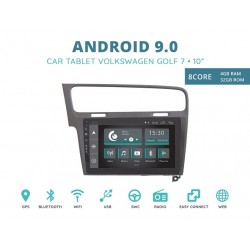 CUSTOM FIT JF-032W7O-XDAB AUTORADIO VOLKSWAGEN GOLF 7 GRIGIO ANDROID OCTACORE