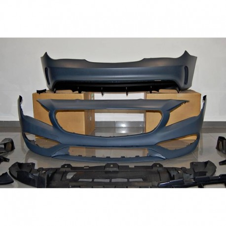 KIT ESTETICO COMPLETO IN ABS MERCEDES CLA W117 SW LCI LOOK AMG A45