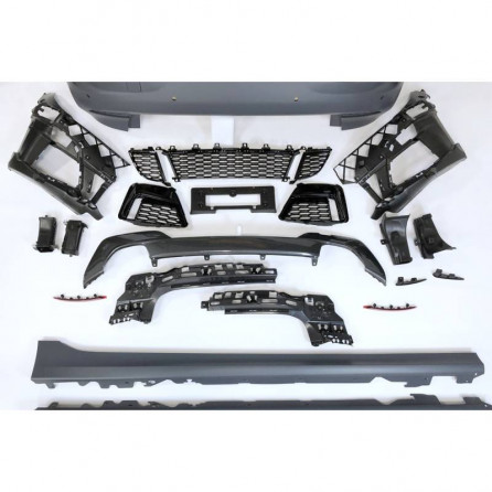 KIT ESTETICO COMPLETO IN ABS BMW SERIE 3 G20 LOOK M TECH