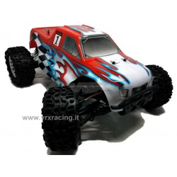 VRX RACING RH1011M Monster Truck 1:10 SWORD elettrico RC-550 Turbo speed Nuova Radio 2.4ghz RTR 4WD