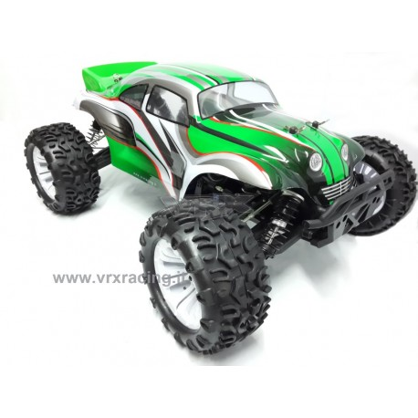 Truggy Maggiolino 1/10 Off-Road motore elettrico brushless radio 2.4ghz 4WD RTR VRX