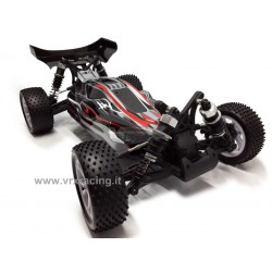 VRX RACING RH1016 SPIRIT EBD Buggy elettrico RC-550 Turbo speed Radio 2.4ghz 1:10 RTR 4WD