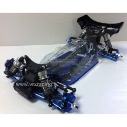 BUGGY SPIRIT UPGRADE 1/10 interamente assemblato in carbonio ed ergal VRX