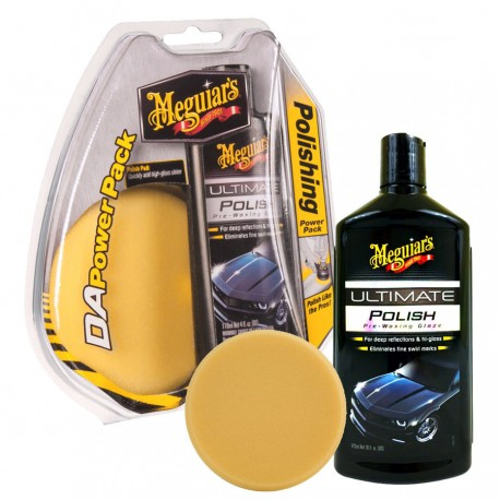 MEGUIARS Kit tampone Meguiars DA Power system Ultimate Polishing Pack