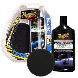 MEGUIARS Kit tampone Meguiars DA Power system Ultimate Waxing Pack