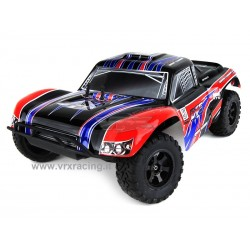 VRX RACING RH1018 DT5EBD Short Course Truck con TELAIO IN METALLO, motore elettrico RC-550 Radio 2.4ghz 1:10 RTR 4WD