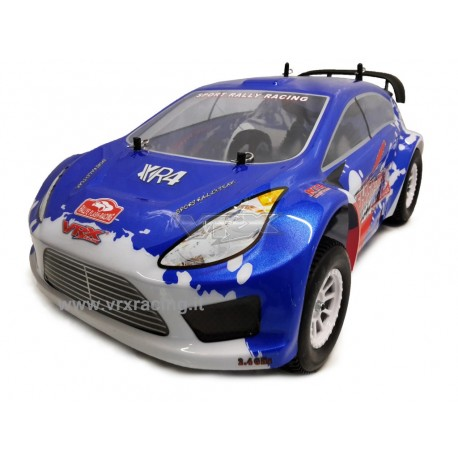 Flash-Rally XR4 EBD a Spazzole Radio 2.4 Ghz Ni-Mh 1800mAH 7.2 V 1:10 RTR 4WD