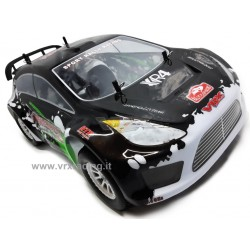 VRX RACING RH1028 Flash-Rally XR4 EBL Brushless 2.4 Ghz Fly Sky Lipo 7,4V 1/10 RTR 4WD