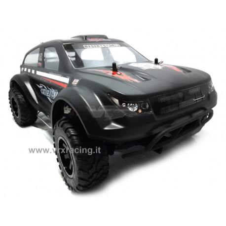 RATTLESNAKE EBD SUV 1/10 off-road elettrico a spazzola telaio in metallo 2.4 Ghz 4WD RTR VRX