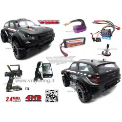 RATTLESNAKE EBL SUV 1/10 off-road brushless 2.4 Ghz 4WD RTR VRX