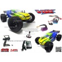 VRX RACING RH902 Truggy XXX Sword off road 1/10 motore elettrico Brushless Radio 2.4ghz RTR 4WD con telaio in metallo VRX