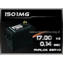 HIMOTO Servo analogico High Speed Power 17Kg HD 1501MG con ingranaggi in metallo