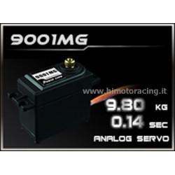 HIMOTO Servo analogico 9.8kg High Speed Power HD 9001MG con ingranaggi in metallo