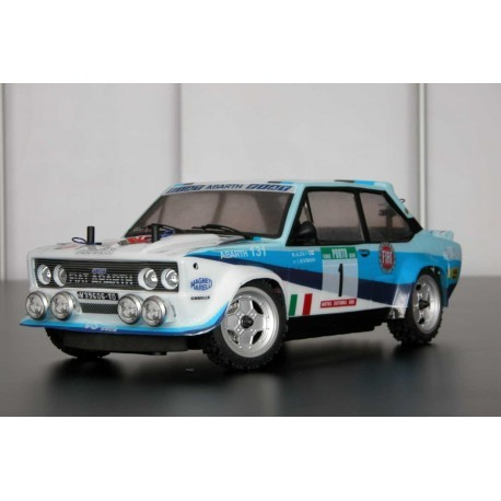 RALLY LEGEND CARROZZERIA FIAT 131 RALLY BODY WRC 1/10