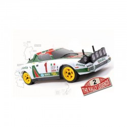 RALLY LEGEND CARROZZERIA STRATOS ALITALIA + ADESIVI + ACCESS.
