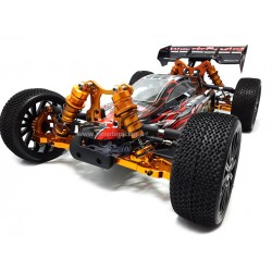 HIMOTO MEGAE8XBL BUGGY SHOOTOUT UPGRADE MEGAE8XBL HIMOTO 1/8 BRUSHLESS 2.4Ghz 4WD RTR