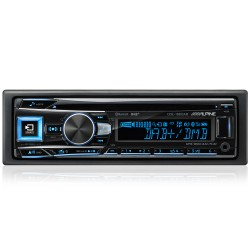 ALPINE CDE-196DAB MULTICOLORE BLUETOOTH DAB+ Sound Tuning