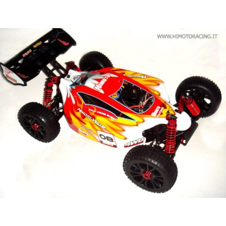 BUGGY HIMOTO VEGA 1:8 BRUSHLESS OFF ROAD RADIO 2.4GHz 4WD RTR