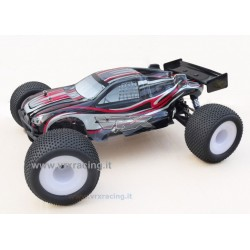 VRX RACING RH801 Truggy 1/8 Off-Road con Motore a Scoppio GO.28 – Radio 2.4 GHz – 4WD – RTR – VRX