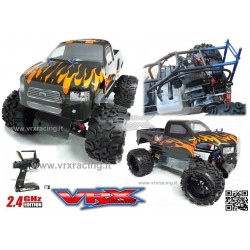 Monster Truck Blaze 1/5 Off road con Motore a scoppio 30cc Radio 2.4Ghz 2WD RTR RH502MT VRX
