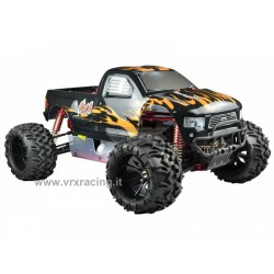 Monster Truck 1/5 Off road con Motore a scoppio 30cc – Radio 2.4Ghz – 4WD – RTR – RH509 HURRICANE V2 VRX