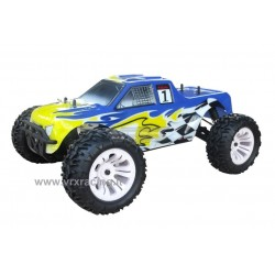 Monster Truck Blade TS 1/10 Off road con Motore a Scoppio GO.18 a due marce Radio 2.4 GHz 4WD RTR RH1002M VRX