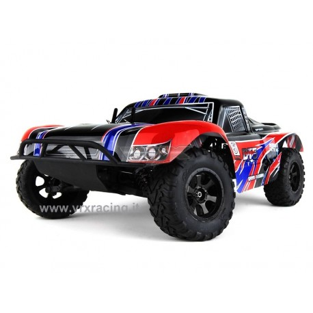 Short Course Truck 1/10 Off road con Motore a Scoppio GO.18 a 2 Marce – Radio 2.4GHz – 4 WD – RTR – RH1009 DT5 N.2 VRX