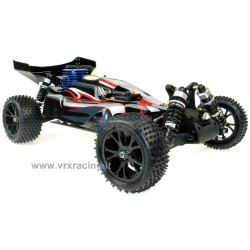 VRX RACING RH1007 Buggy Spirit N2 1/10 Off road Motore a Scoppio GO.18 a 2 Marce Radio 2.4GHz 4WD RTR RH1007 VRX