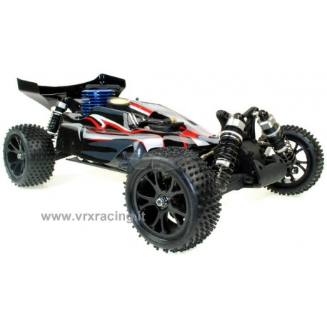 Buggy Spirit N2 1/10 Off road con Motore a Scoppio GO.18 a 2 Marce Radio 2.4GHz 4WD RTR RH1007 VRX