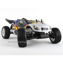 VRX RACING RH1022 Truggy 1/10 Off road Motore a scoppio GO.18 a 2 Marce – Radio 2.4 GHz – 4WD – RTR – RH1022 BULLDOG N.2 VRX