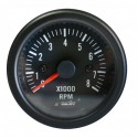 SIMONI RACING MANOMETRO Contagiri 0-8000 RPM - Black face