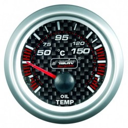 SIMONI RACING MANOMETRO Temperatura dell'olio - Carbon look