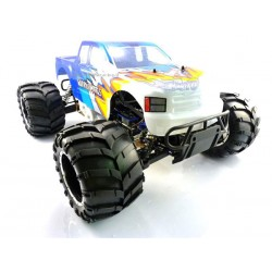 HIMOTO HI6505 MONSTER TRUCK 1:5 SCALE RTR 4WD PETROL OFF ROAD TWIN SERVO 30CC ENGINE W/2.4G REMOTE