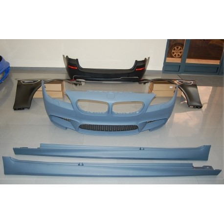 KIT ESTETICO COMPLETO IN ABS BMW SERIE 5 F11 LOOK M-TECH