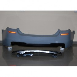 PARAURTI POSTERIORE IN ABS BMW SERIE 5 F10 LCI LOOK M-TECH