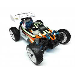 HIMOTO Buggy Meteor 1/16 motore a scoppio SH7 4WD RTR