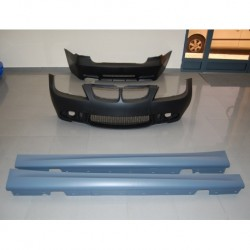 KIT ESTETICO COMPLETO IN ABS BMW SERIE 3 E90 LOOK M-TECH