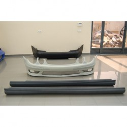 KIT ESTETICO COMPLETO IN ABS MERCEDES W211 LOOK AMG DAL 2002 AL 2006