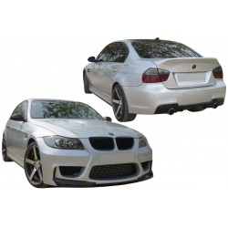 KIT ESTETICO COMPLETO IN VETRORESINA BMW E90 LOOK M